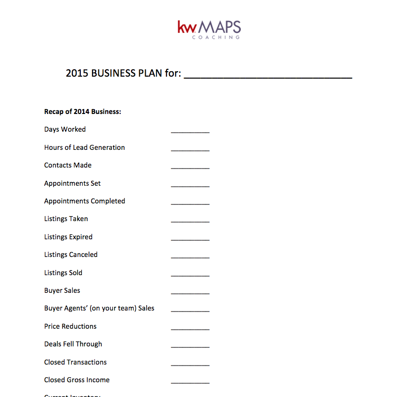 11+ Real Estate Business Plan Templates